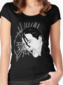 Black Lodge Women's Fitted Scoop T-Shirt