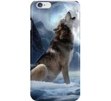 Wolf Howling iPhone Case/Skin