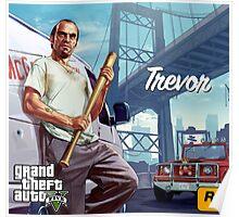 Trevor Philips GTA V Poster Poster