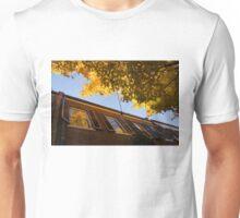 Washington, DC Facades - Reflecting on Autumn in Georgetown  Unisex T-Shirt