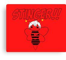 Sting !! Canvas Print