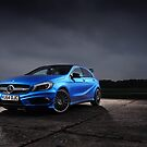 Mercedes A45AMG by iShootcars