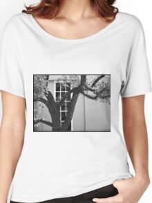 Dallas Architecture 9  Women's Relaxed Fit T-Shirt