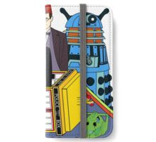 The Yellow Time Machine iPhone Wallet/Case/Skin