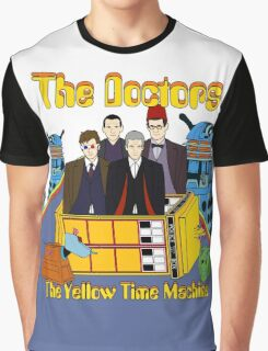 The Yellow Time Machine Graphic T-Shirt