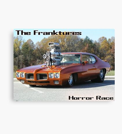 Horror Race G.T.O Canvas Print