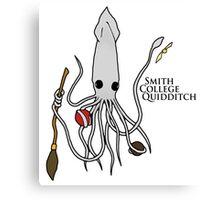 Smith College Quidditch Mascot Canvas Print