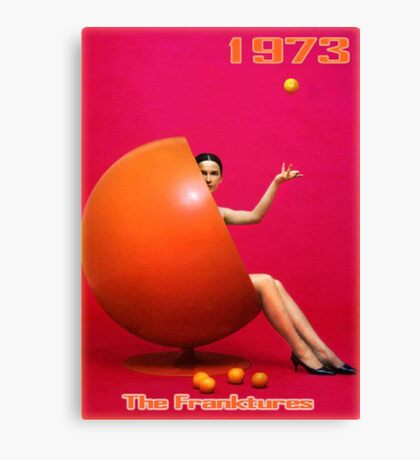 Orange 1973 Canvas Print