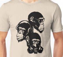 Three Monkeys Unisex T-Shirt