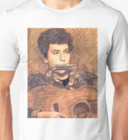 PORTRAIT OF BOB DYLAN Unisex T-Shirt