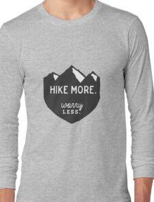 Hike More Art Long Sleeve T-Shirt