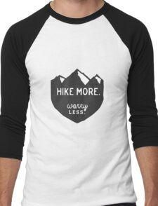 Hike More Art Men's Baseball ¾ T-Shirt