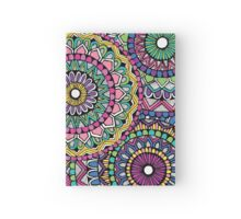 Bright Coloured Mandala Hardcover Journal