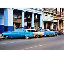 It's how we roll in Havana Photographic Print