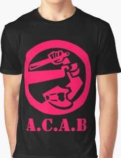 A.C.A.B All Cops Are Bastards Graphic T-Shirt