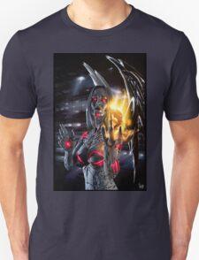 Robot Angel Painting 019 Unisex T-Shirt