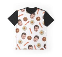 All the Bacon and Eggs Graphic T-Shirt