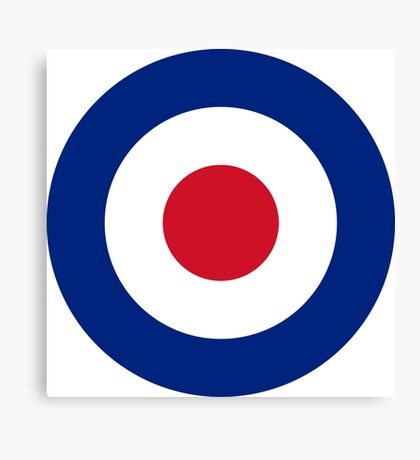 RAF MODS Canvas Print