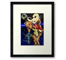 Samus <3 - Super Metroid FanArt Framed Print