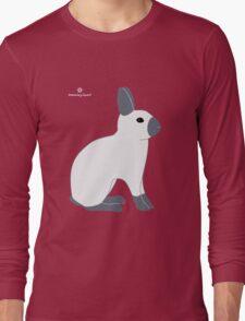 Blue Sable Point Rabbit Long Sleeve T-Shirt