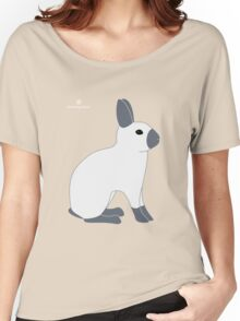 Blue Sable Point Rabbit Women's Relaxed Fit T-Shirt