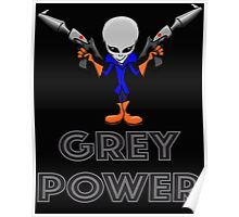 Grey Power Poster