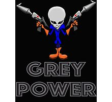 Grey Power Photographic Print