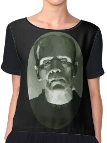 Frankenstein in Low-Poly Chiffon Top