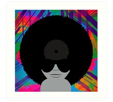 Funky Vinyl Records - Music Art Art Print