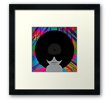 Funky Vinyl Records - Music Art Framed Print