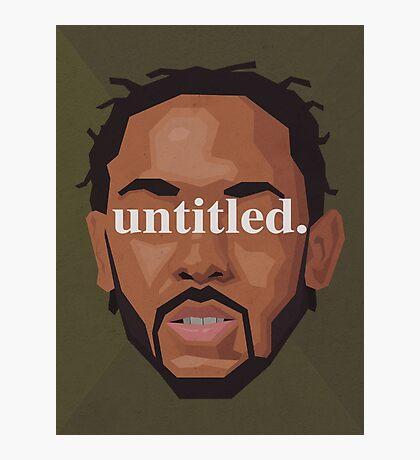 Kendrick Lamar Untitled Photographic Print