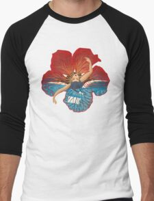 Flower Hawaii Pele Men's Baseball ¾ T-Shirt