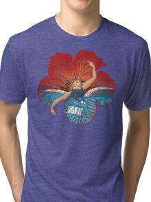 Flower Hawaii Pele Tri-blend T-Shirt