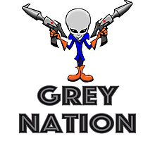 Grey Nation Photographic Print