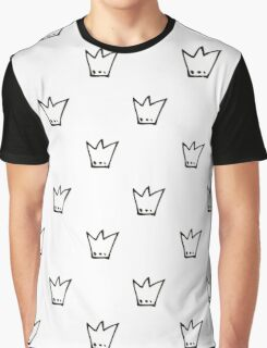 Monochrome pattern with crowns Graphic T-Shirt