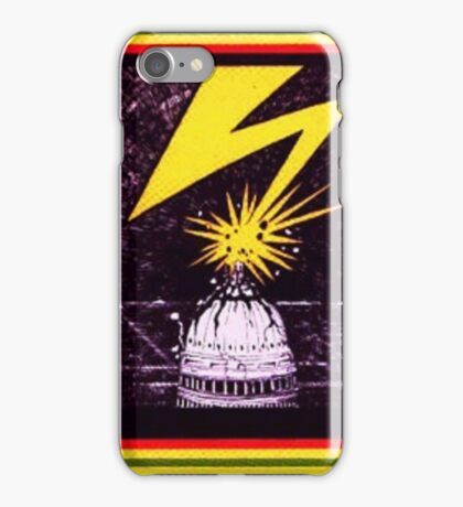Brains Capitol Lightning iPhone Case/Skin