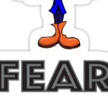 Fear the Greys! Sticker