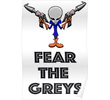 Fear the Greys! Poster