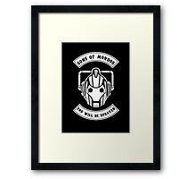 Sons Of Mondos - You will be deleted Framed Print