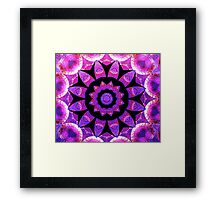Purple patch Framed Print
