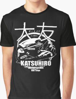 Akira Katsuhrio Cycles - Reversed Graphic T-Shirt