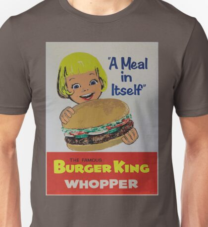 the king of the burger Unisex T-Shirt