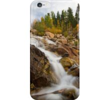Rocky Mountain National Park Waterfall iPhone Case/Skin