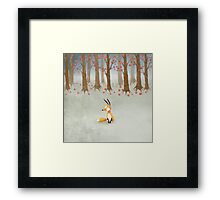 What I Know About White Socks No.2 This is White Socks. Framed Print