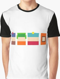 South Park Pixels Graphic T-Shirt