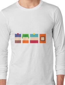 South Park Pixels Long Sleeve T-Shirt