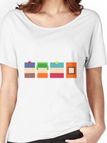 South Park Pixels Women's Relaxed Fit T-Shirt