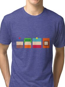South Park Pixels Tri-blend T-Shirt