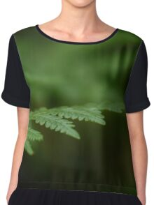 A Moment in the Forest Chiffon Top