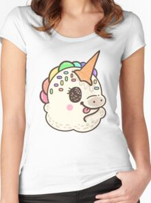 Unicone Sprinkles Women's Fitted Scoop T-Shirt